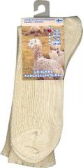 Alpakka unisukka luonnonvärinen 38-39 1 pari