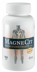 MagneCit magnesiumsitraatti + B6-vitamiini 100 tabl