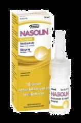 NASOLIN 0,5 mg/ml nenäsumute, liuos (säilytysaineeton)10 ml