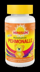 Minisun Pehmonalle Sitrus Monivit. Junior  pehmeä pureskeltava monivitamiini 60 kpl